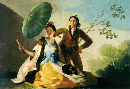 Francisco-de-Goya-parasol